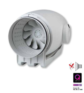 S&P TD 800-200 SILENT Yuvarlak Kanal Fanı. ürün görseli