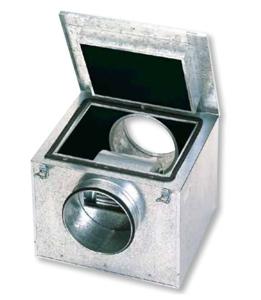 Resim S&P CAB-125 Akustik İzolasyonlu Kabinli Kanal Fanı