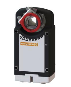 Gruner 361-024-10 Yay Geri Dönüşlü Damper Motoru (10Nm). ürün görseli