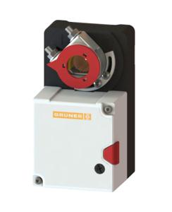 Gruner 227-230-15-S1 Yay Geri Dönüşsüz Damper Motoru (15Nm). ürün görseli