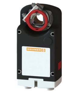 Resim Gruner 363-024-20-S2 Yay Geri Dönüşsüz Damper Motoru (20Nm)