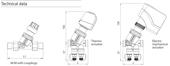 Frese Optima Compact DN15 H2,5 Basınçtan Bağımsız Balans ve Kontrol Vanası. ürün görseli