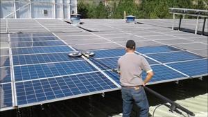 Güneş Enerji Santrali GES Temizliği. ürün görseli