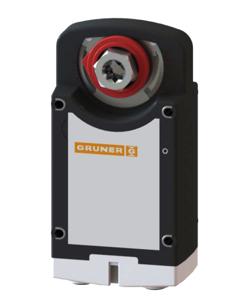 Resim Gruner 362-230-20-S2 Duman Tahliye Damper Motoru (20Nm)