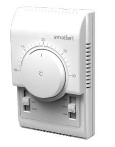 Resim Smallart SM107 DB Elektro-Mekanik Fancoil Termostatı