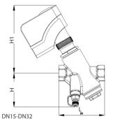 Frese Optima 53-1047 Yüzer Elektro-Mekanik Vana Motoru (DN15-32). ürün görseli